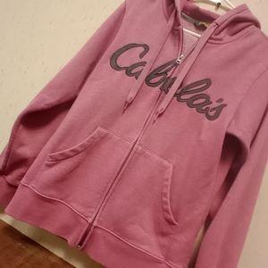 Women zip closure hoodie